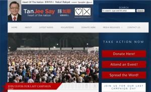 Completa web de Tan Jee Say