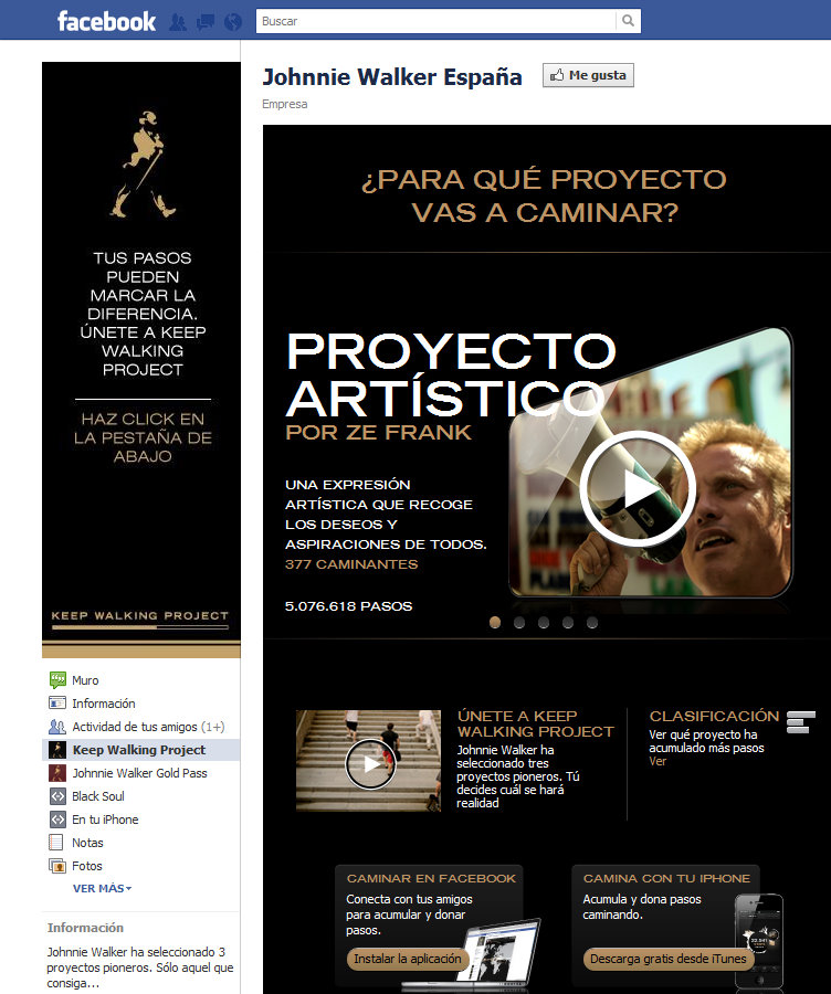 Apoya el proyecto de Ze Frank en Facebook
